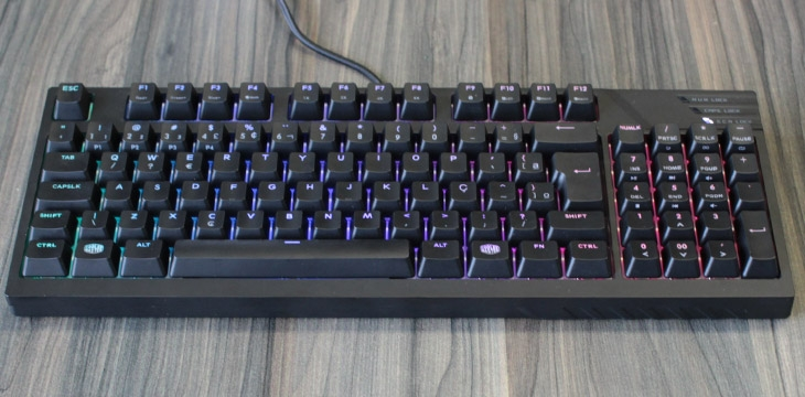 [VÍDEO] Review: Teclado Cooler Master MasterKeys Pro M RGB