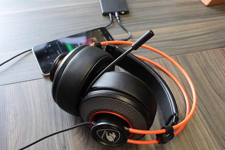 review headset cougar immersa