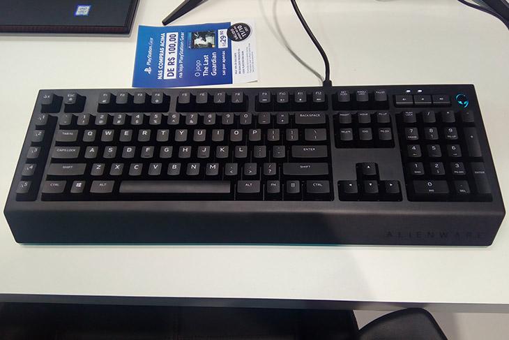 teclado alienware