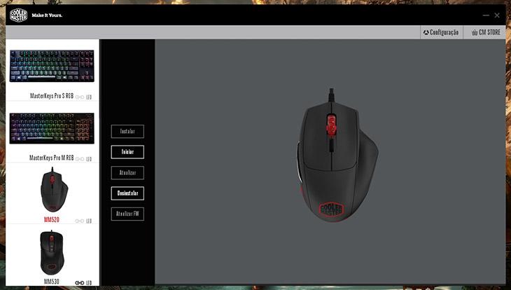 mouse gamer cooler master