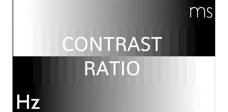 taxa de contraste